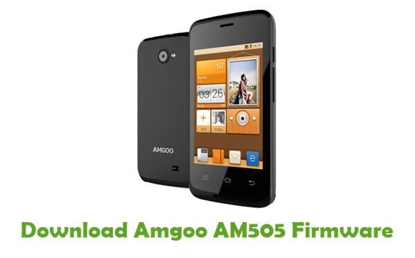 Amgoo AM505 Stock ROM