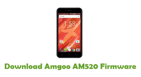Download Amgoo AM520 Stock ROM