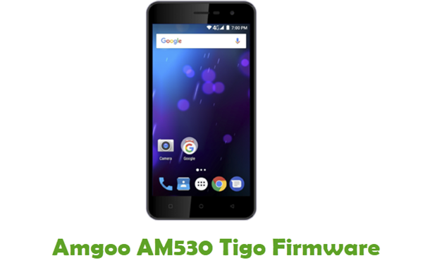 Amgoo AM530 Tigo Stock ROM