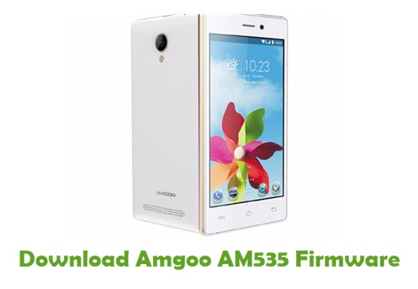 Download Amgoo AM535 Firmware
