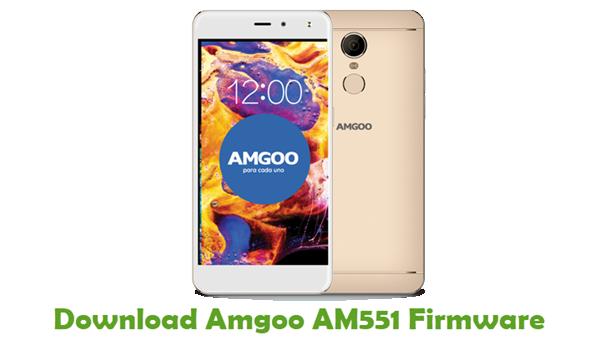 Amgoo AM551 Stock ROM