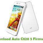 Aoto C820 5 Firmware