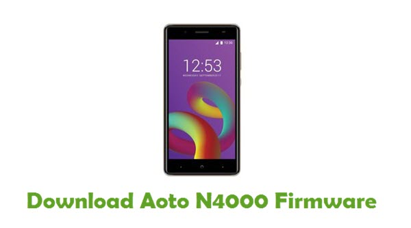 Download Aoto N4000 Firmware