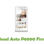 Aoto P6000 Firmware