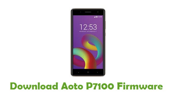 Download Aoto P7100 Firmware