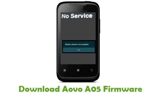 Aovo A05 Stock ROM
