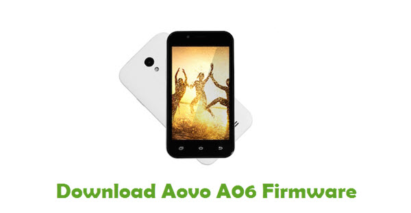 Download Aovo A06 Stock ROM