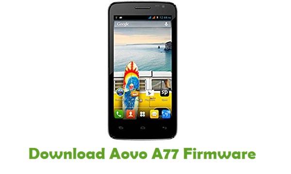 Aovo A77 Stock ROM