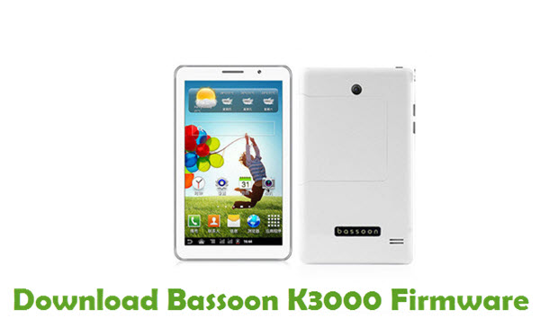 Download Bassoon K3000 Firmware