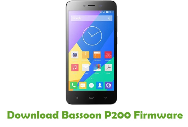 Download Bassoon P200 Firmware