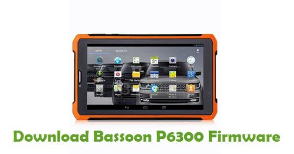 Download Bassoon P6300 Firmware