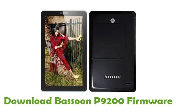 Download Bassoon P9200 Firmware