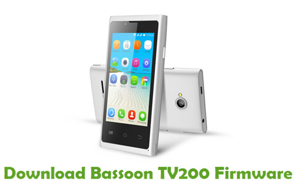 Download Bassoon TV200 Firmware