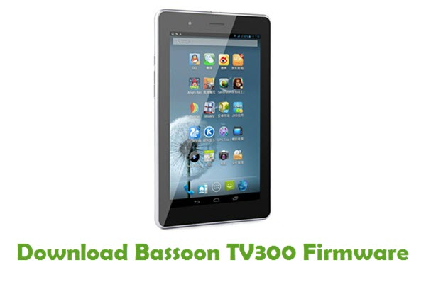 Download Bassoon TV300 Firmware