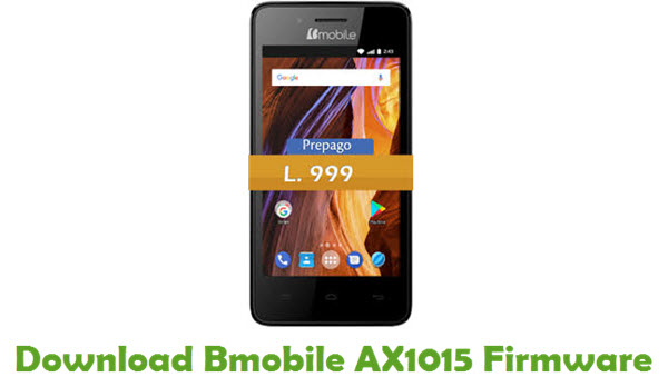 Bmobile AX1015 Stock ROM