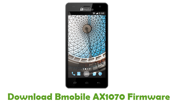Bmobile AX1070 Stock ROM