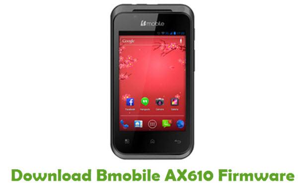 Download Bmobile AX610 Stock ROM