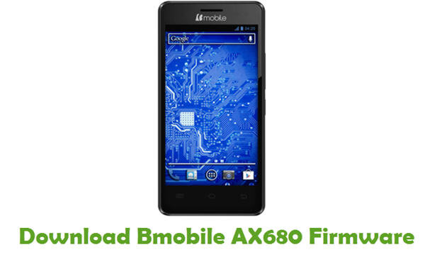 Bmobile AX680 Stock ROM