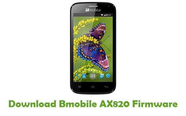 Download Bmobile AX820 Stock ROM