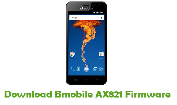 Bmobile AX821 Stock ROM