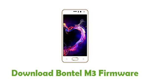 Bontel M3 Stock ROM