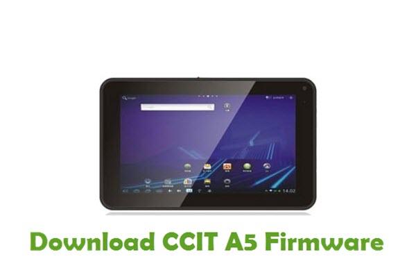 CCIT A5 Stock ROM