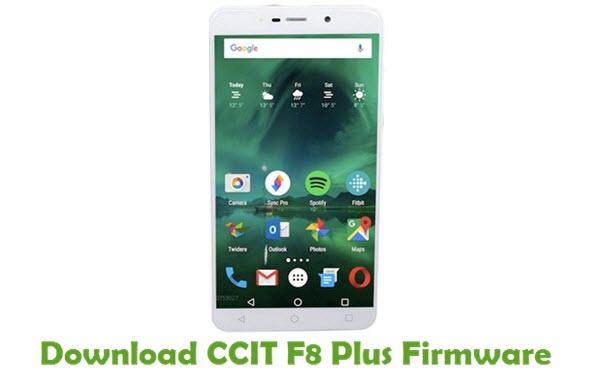 CCIT F8 Plus Stock ROM