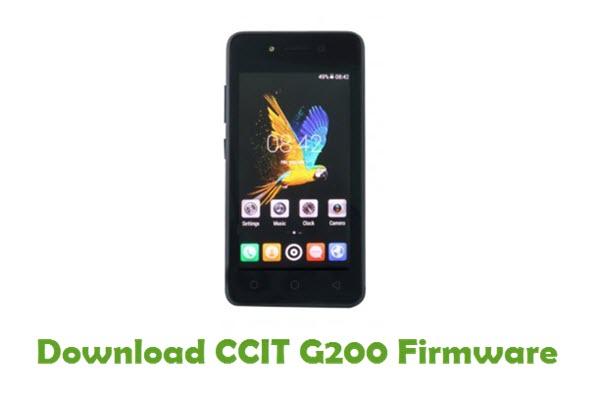 Download CCIT G200 Stock ROM