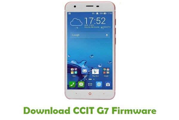 CCIT G7 Stock ROM