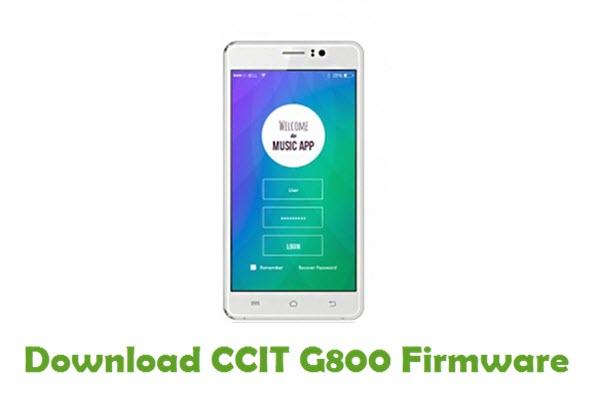 CCIT G800 Stock ROM