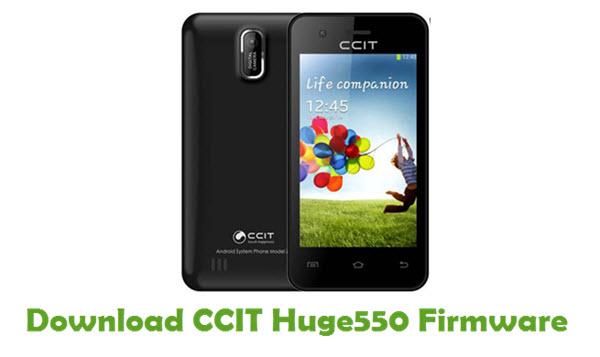 Download CCIT Huge550 Stock ROM