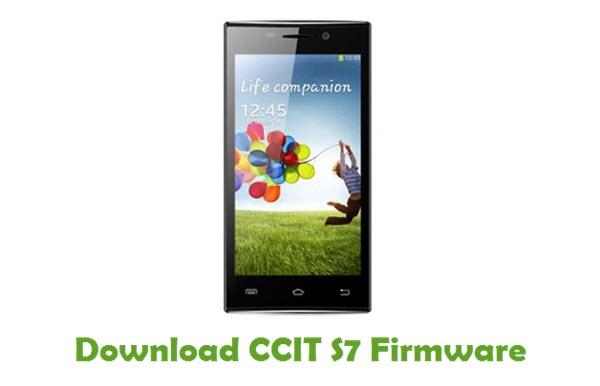 Download CCIT S7 Stock ROM