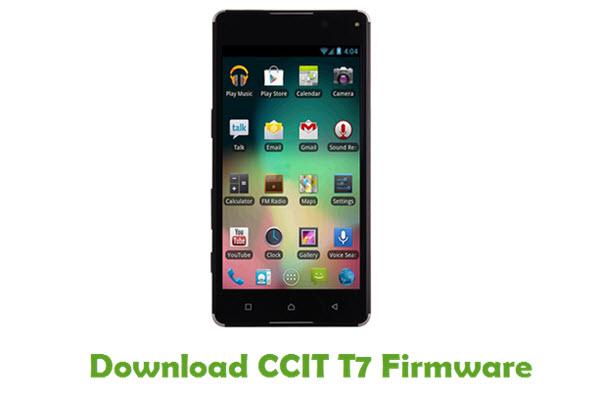 CCIT T7 Stock ROM