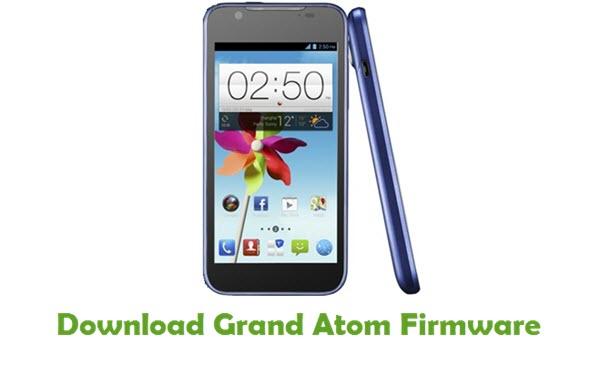 Grand Atom Stock ROM