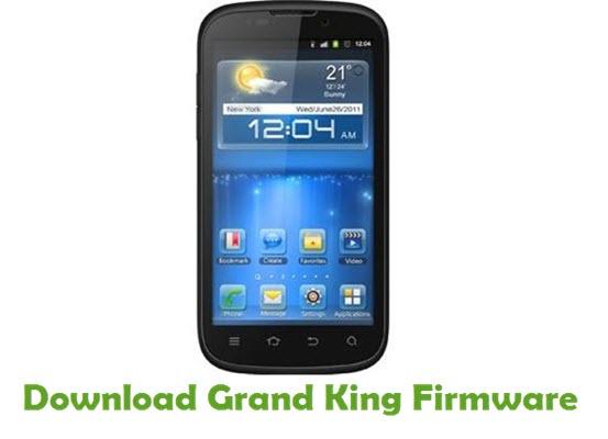 Grand King Stock ROM