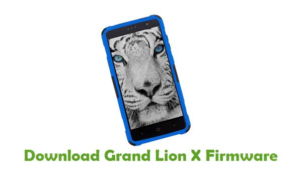 Grand Lion X Stock ROM