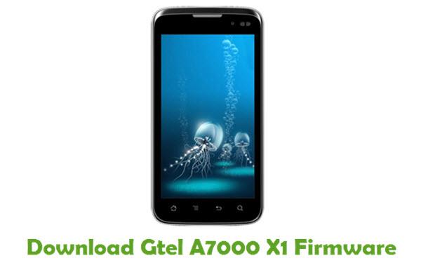 Gtel A7000 X1 Stock ROM