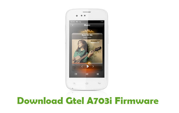 Gtel A703i Stock ROM
