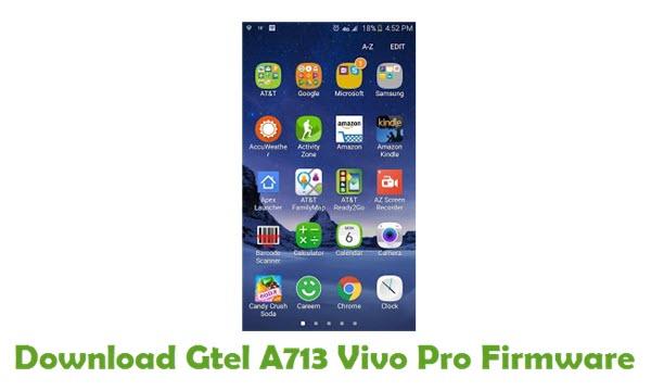 Gtel A713 Vivo Pro Stock ROM