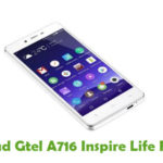 Gtel A716 Inspire Life Firmware