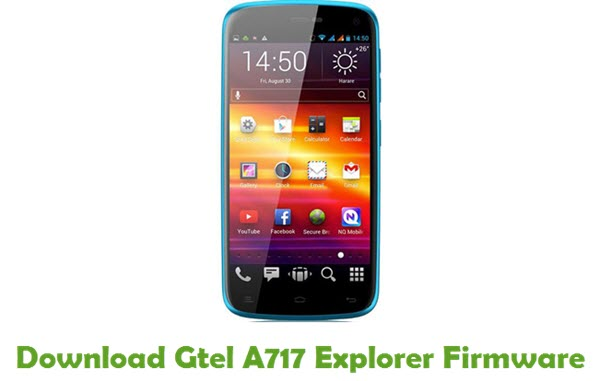 Gtel A717 Explorer Stock ROM