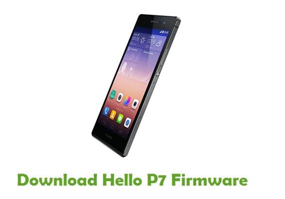 Hello P7 Stock ROM