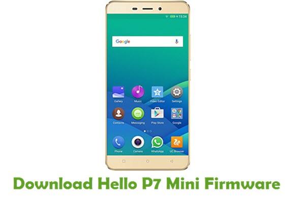 Download Hello P7 Mini Stock ROM