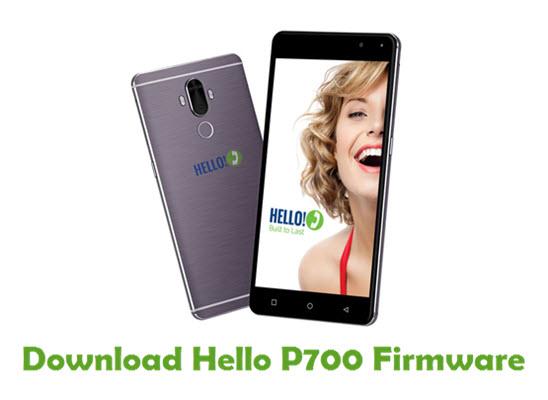 Download Hello P700 Stock ROM