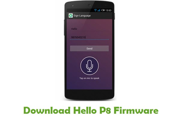 Download Hello P8 Stock ROM