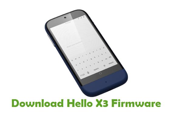 Download Hello X3 Stock ROM