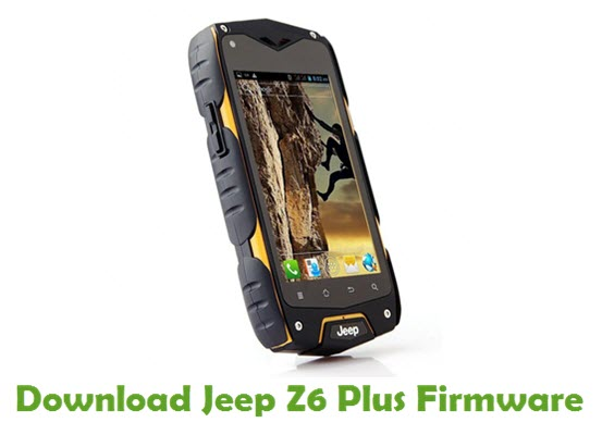 Jeep Z6 Plus Stock ROM