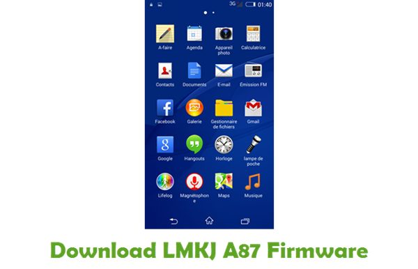 LMKJ A87 Stock ROM