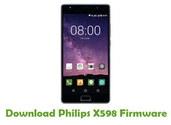 Philips X598 Stock ROM