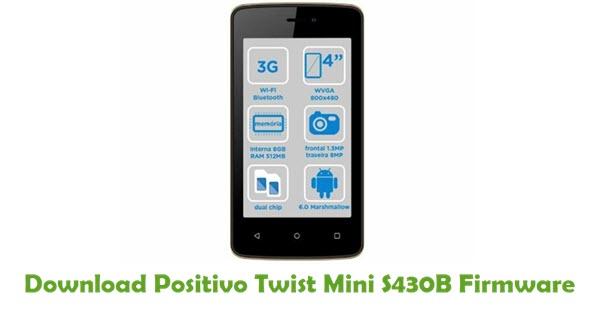 Positivo Twist Mini S430B Stock ROM